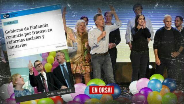 Renunció todo el gobierno de Finlandia por no cumplir con lo prometido en campaña