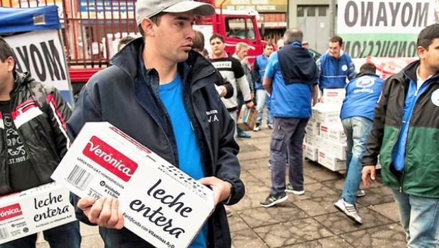 Algo más que mala leche: Lácteos Verónica también pidió un plan preventivo de crisis