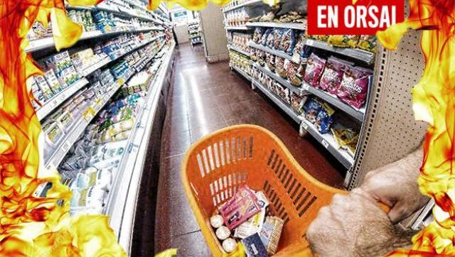 """La inflación de los alimentos llegó a casi el 60%, pero Macri dice que """"está bajando"""""""