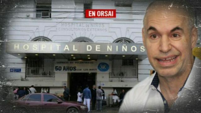 Hospital de Niños Ricardo Gutiérrez: Falta de insumos, salas sin agua y comida con gusanos