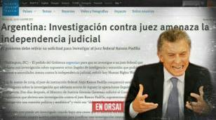"""El mundo habla sobre Macri y la persecución a Ramos Padilla: """"represalias"""" por """"una investigación que le preocupa"""""""