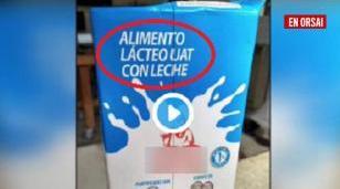 No sólo falta leche: la venden rebajada con agua