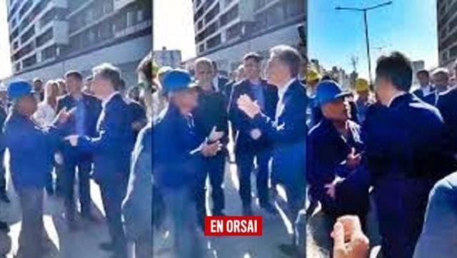 Habló Dante el obrero que increpó a Macri y le dijo