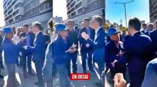 """Habló Dante el obrero que increpó a Macri y le dijo """"hagan algo"""""""