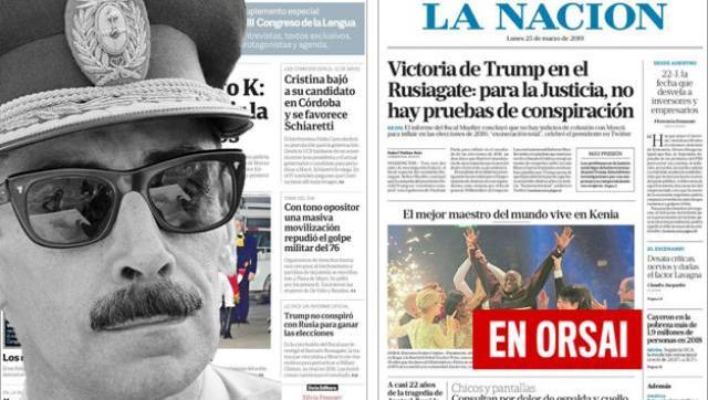 Igual que en dictadura: Clarín y La Nación ocultaron la masiva marcha por la Memoria