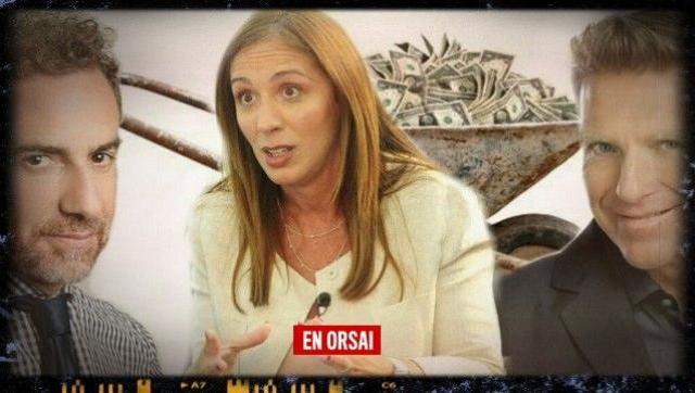Con nuestra plata: los millones que pagó Vidal por pauta a Fantino y Majul