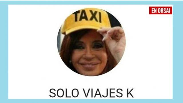 Crean un grupo de taxistas y pasajeros kirchneristas para viajes nacionales y populares