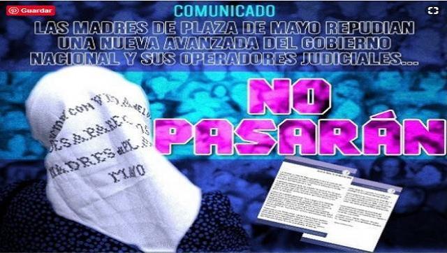 """""""No pasarán"""": Madres de Plaza de Mayo convocó a defender su sede ante un operativo judicial"""