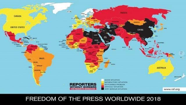 Dura caída de Argentina en el ranking de libertad de expresión