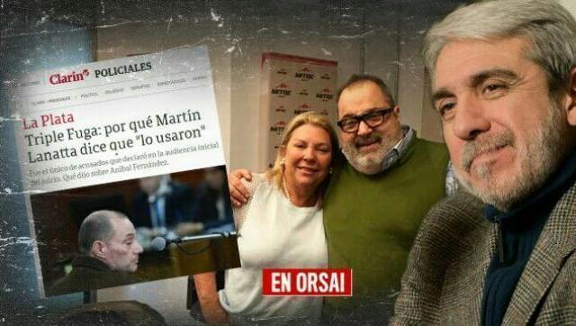 Tiembla Carrió: Aníbal querellante por el intento de la diputada de inculparlo en el Triple Crimen