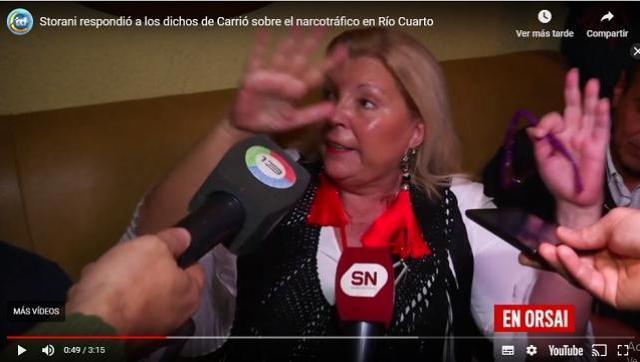 Se caen una a una las mentiras que dijo Carrió de campaña con Negri en Córdoba