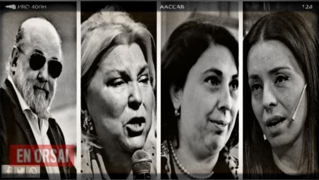 Escándalo: Bonadio, Carrió, Oliveto y Zuvic