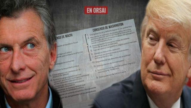 Los diez puntos de Macri y el Consenso de Washington: ¡estás igual!
