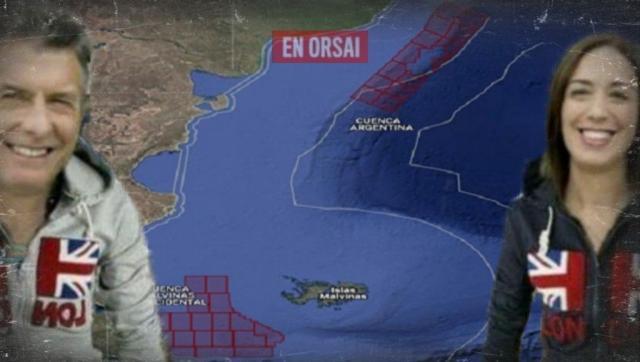 Cambiemos le entregó la explotación petrolera en la cuenca de Malvinas a los Ingleses