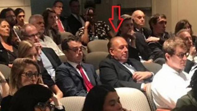 El viernes el empresario de medios estuvo en el Wilson Center de Washington escuchando al economista de la ex presidenta.