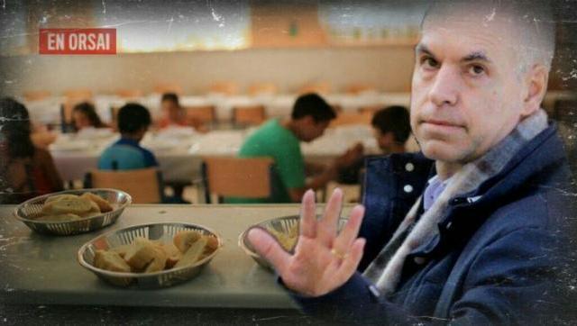Larreta y el negocio con la comida en los colegios