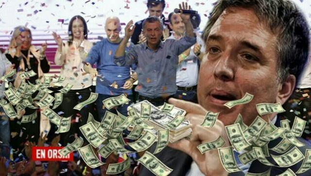 El gobierno de Cambiemos despilfarró en un mes el 83% del último giro del FMI