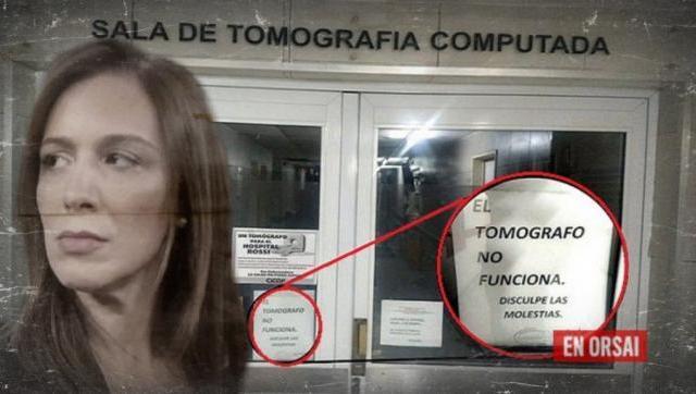 El Hospital Rossi está sin tomógrafo por el recorte de presupuesto de Vidal