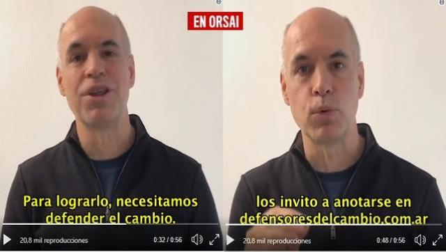 """Larreta insta a los porteños para ser kamikazes y salir a """"convencer"""" a amigos y vecinos"""