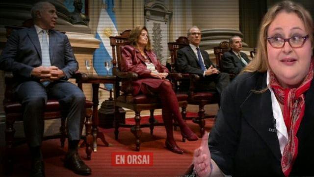 Tremendo hilo de la Dra. Graciana Peñafort sobre el escándalo de la Corte Suprema