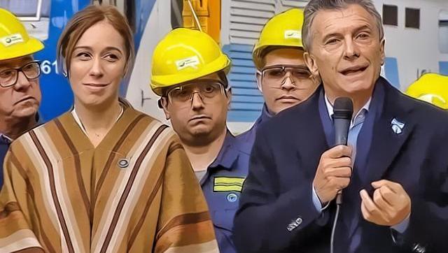 Lo dijo en serio: para Macri repartir notebook es como repartir asado