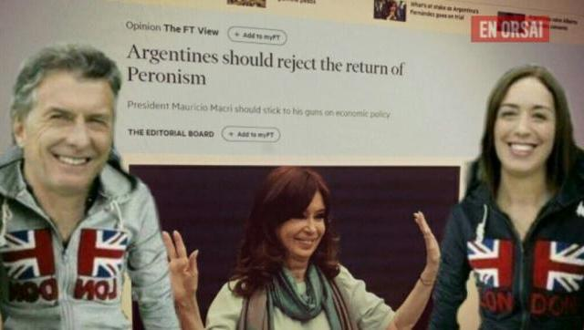 El diario ingl�©s m�¡s importante les pidi�³ a los argentinos que â??rechacen al peronismoâ?
