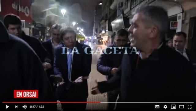 El video de la pelea de José Cano y Bussi con gravísimas acusaciones entre si