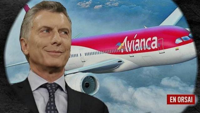 Avianca, que llegó al país de la mano de la familia Macri, dejará de volar en la Argentina
