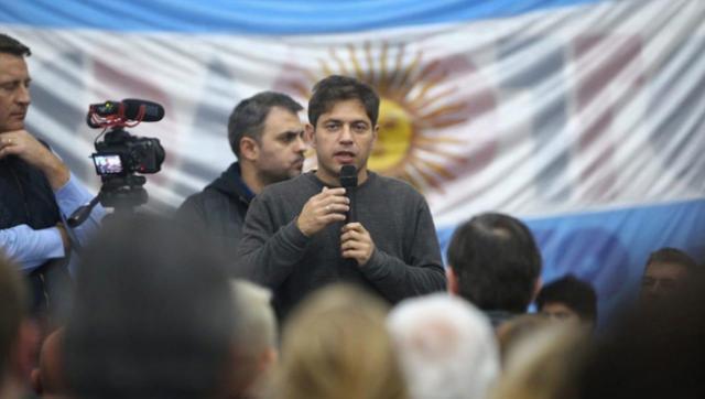 """Kicillof: """"Nos vamos a dedicar a levantar las persianas que se bajaron con este Gobierno"""""""
