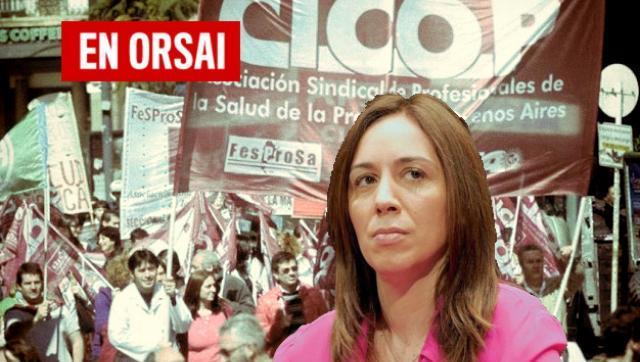 Vidal congeló salarios de los trabajadores de la provincia que realizan un paro