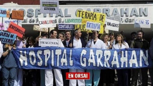 Larreta y la salud: Denuncian que faltan camas y hay chicos internados en los pasillos del Garrahan