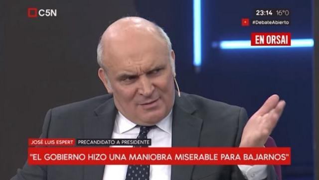 Espert destrozó a Macri y lo acusó de hacer una