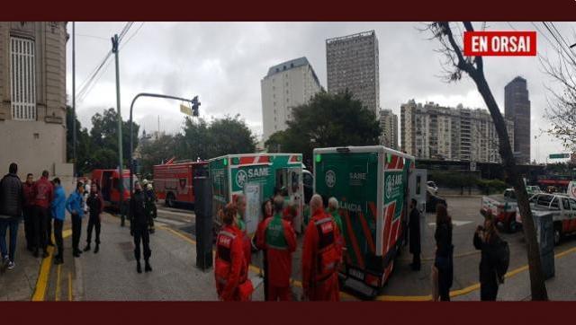Peligro y evacuación en la escuela Lenguas Vivas tras un escape de gas