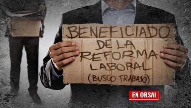 El gobierno anuncia que después de las elecciones manda la reforma laboral