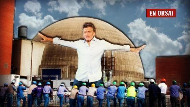 Desinversión en energía: despiden a 130 trabajadores de la central nuclear Atucha