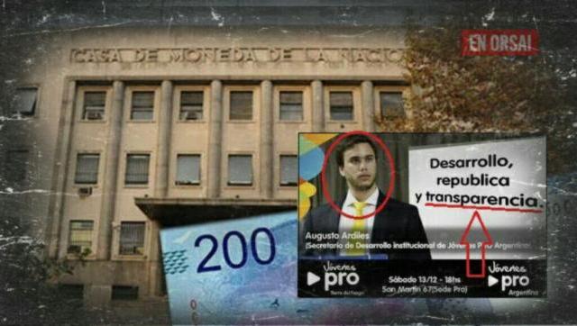 """""""Joven PRO"""", acusado de desvío de fondos, como integrante del Directorio de la Casa de la Moneda"""