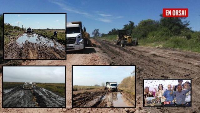 Según CARBAP, el estado de los caminos rurales empeoró en el último año
