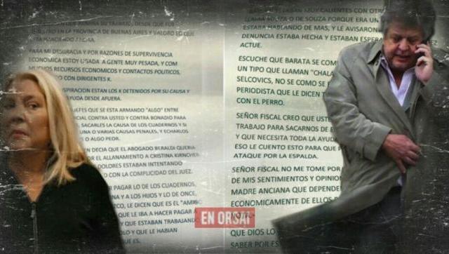 El anónimo con el que pretenden voltear la causa de Ramos Padilla