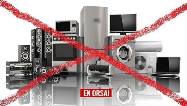 Sigue el derrumbe en la venta de electrodomésticos cayó 33% en mayo