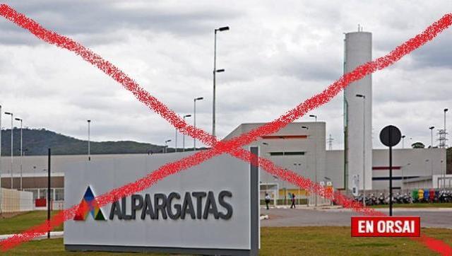 Alpargatas abandona el negocio textil en la Argentina
