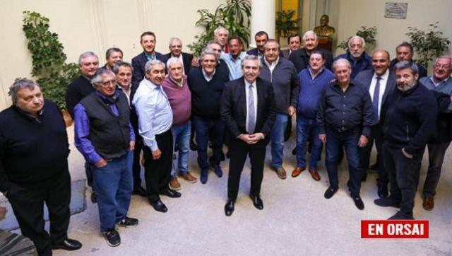 ¿Qué pasó en la reunión entre Alberto Fernández y la cúpula de la CGT?