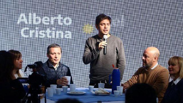 "Axel Kicillof: ""En la provincia de Vidal casi se duplica el desempleo"""