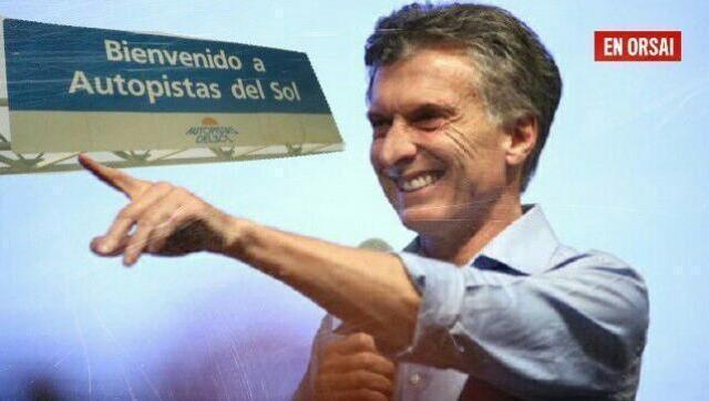 Apuntaron a Macri por los enormes negociados con los peajes