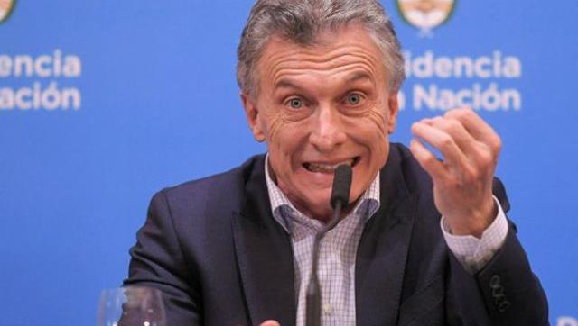 Macri se lav�³ las manos y descarg�³ su enojo contra la sociedad por la nueva corrida cambiaria