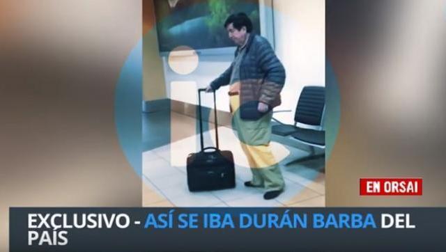 Video: Durán Barba abandonó el país tras la tremenda derrota