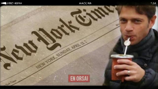 Para el New York Times, â??Axel Kicillof puede renovar al kirchnerismoâ?