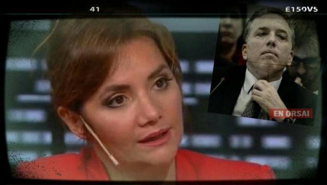 Nancy Pazos contra Dujovne: