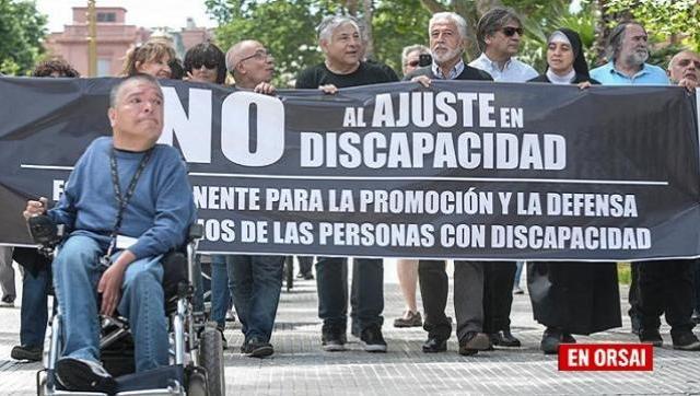 Denuncia: Las personas con discapacidad atraviesan una realidad no vista desde el 2001