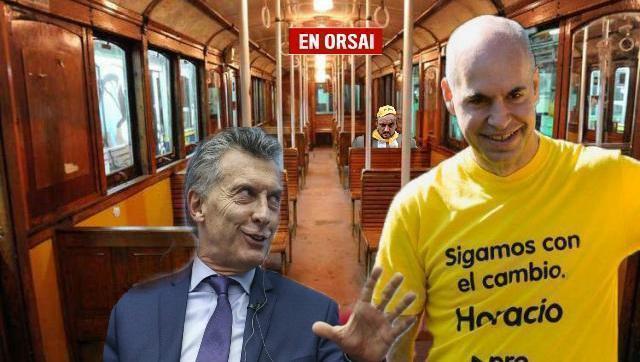 Insólito: Larreta inauguró estaciones de subte sin trenes ni personal
