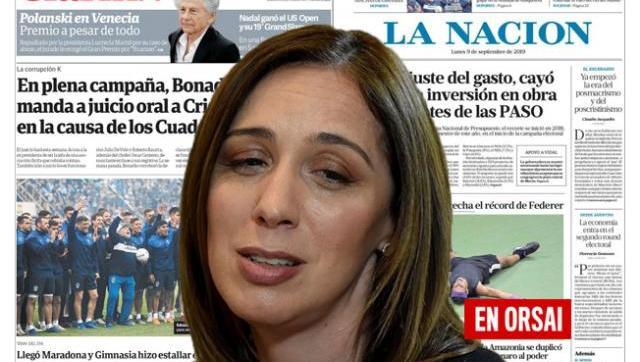 Muy pobre: medios oficialistas casi ni hablan de la marcha en apoyo a Vidal